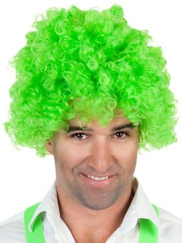 Clown Wig Green - The Costume Company | Fancy Dress Costumes Hire and Purchase Brisbane and Australia
