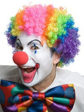 Clown Wig Rainbow - The Costume Company | Fancy Dress Costumes Hire and Purchase Brisbane and Australia