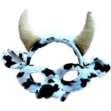 Cow - Headband and Mask Set - The Costume Company | Fancy Dress Costumes Hire and Purchase Brisbane and Australia