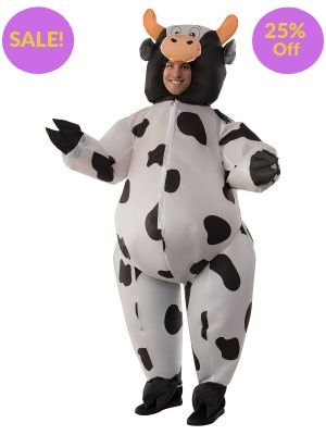 Cow Inflatable Costume - Online Only - The Costume Company | Australian & Family Owned