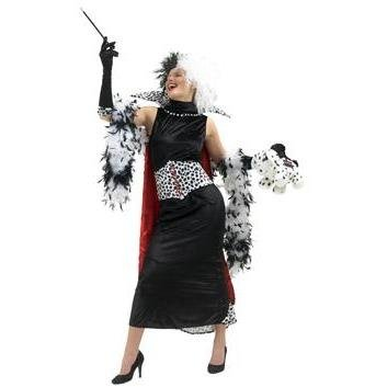 Cruella de Vil Costume - Hire - The Costume Company | Fancy Dress Costumes Hire and Purchase Brisbane and Australia