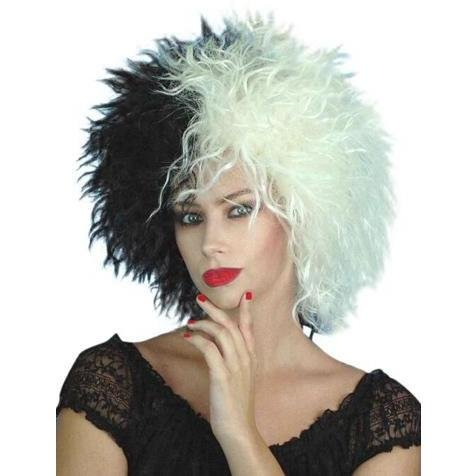 Cruella de Vil Style Wig - The Costume Company | Fancy Dress Costumes Hire and Purchase Brisbane and Australia