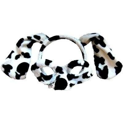 Dalmatian - Headband and Mask Set - The Costume Company | Fancy Dress Costumes Hire and Purchase Brisbane and Australia