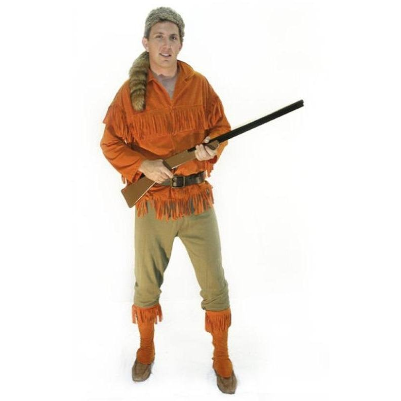 Daniel Boone Costume - Hire - The Costume Company | Fancy Dress Costumes Hire and Purchase Brisbane and Australia