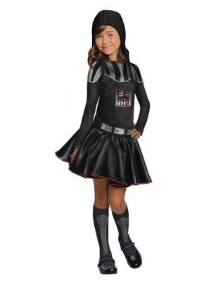 Darth Vader Girl Costume - Buy Online Only