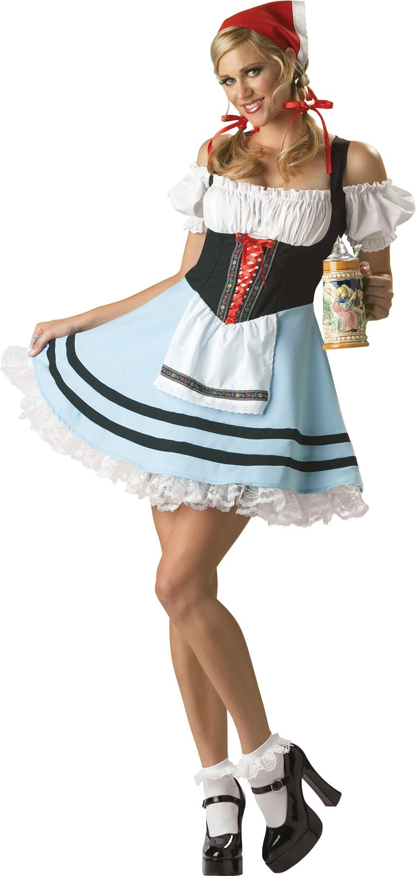 Dirndl German Girl Costume - Hire - The Costume Company | Fancy Dress Costumes Hire and Purchase Brisbane and Australia