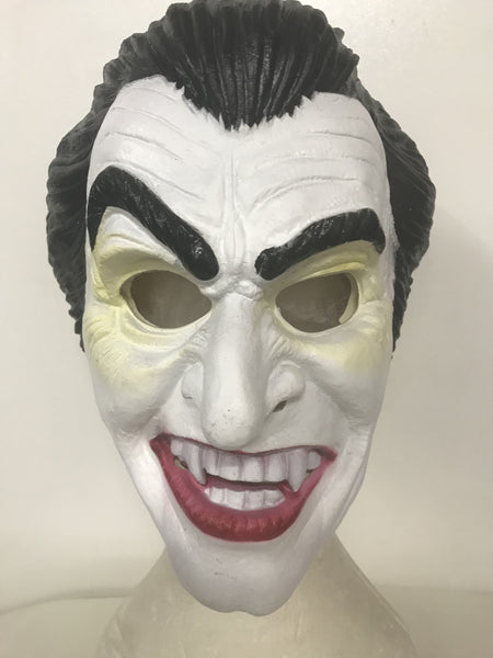 Dracula Scary Mask (latex) - The Costume Company | Fancy Dress Costumes Hire and Purchase Brisbane and Australia