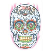 El Amor Day Of The Dead Tattoo - The Costume Company | Fancy Dress Costumes Hire and Purchase Brisbane and Australia