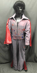 Elvis Style Jumpsuit Red - Hire - The Costume Company | Fancy Dress Costumes Hire and Purchase Brisbane and Australia