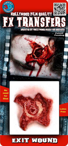 Exit Wound 3D Transfers - Buy Online Only
