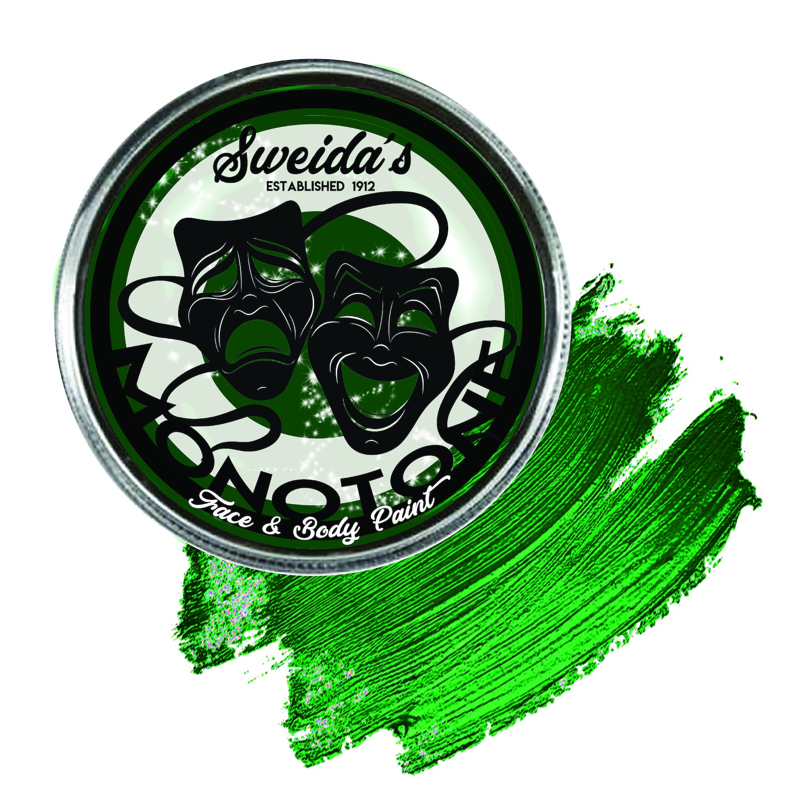 Forest Green - Monotone Pancake 32g