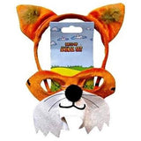 Fox - Headband and Mask Set - The Costume Company | Fancy Dress Costumes Hire and Purchase Brisbane and Australia