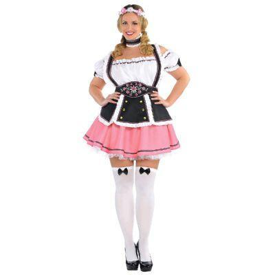 Fraulein Pink Beer Maid - The Costume Company | Fancy Dress Costumes Hire and Purchase Brisbane and Australia