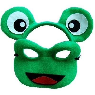 Frog - Headband and Mask Set - The Costume Company | Fancy Dress Costumes Hire and Purchase Brisbane and Australia