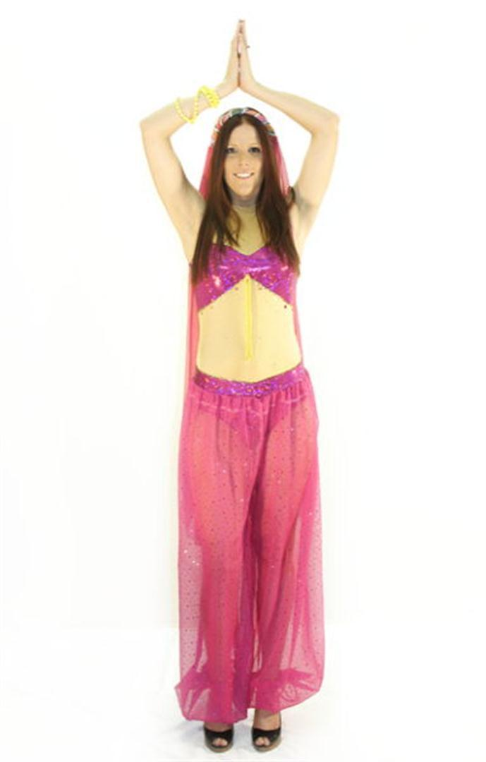 Genie (Female) Costume - Hire - The Costume Company | Fancy Dress Costumes Hire and Purchase Brisbane and Australia