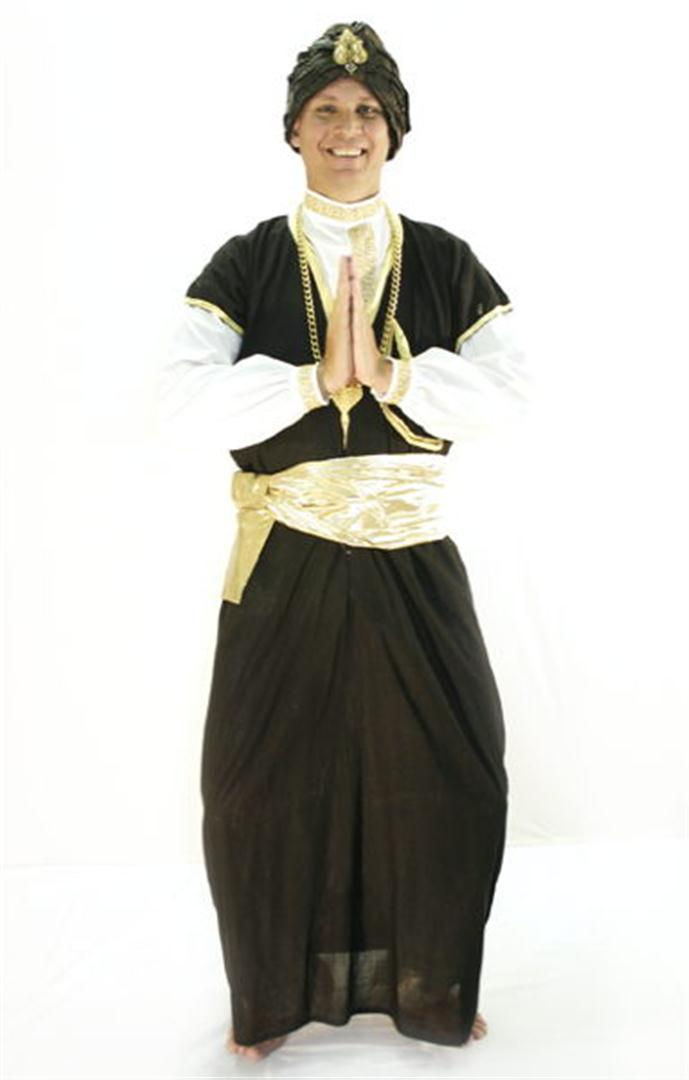 Genie (Male) Costume - Hire - The Costume Company | Fancy Dress Costumes Hire and Purchase Brisbane and Australia