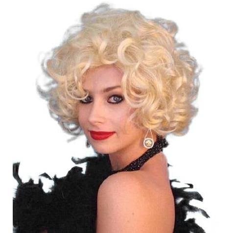 Glamour Silver Screen Star Blonde Wig - The Costume Company | Fancy Dress Costumes Hire and Purchase Brisbane and Australia