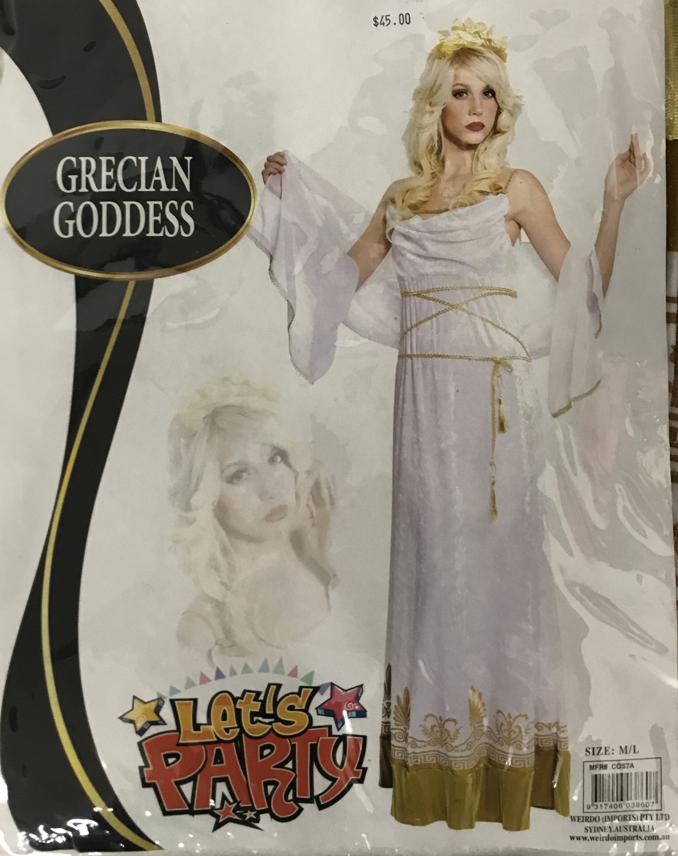 Grecian Goddess - The Costume Company | Fancy Dress Costumes Hire and Purchase Brisbane and Australia