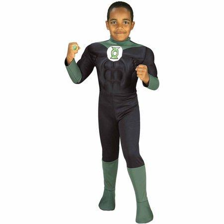 Green Lantern Child - The Costume Company | Fancy Dress Costumes Hire and Purchase Brisbane and Australia