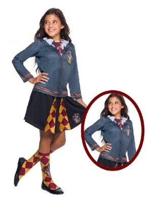 Hermione Costume Gryffindor Top Child - Buy