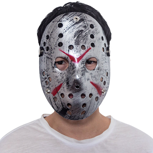 Hockey Mask Silver