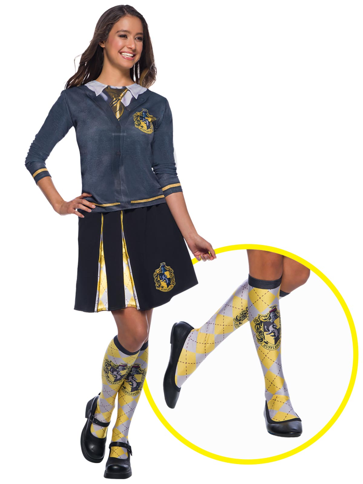 Harry Potter Hufflepuff House Socks - Buy Online Only