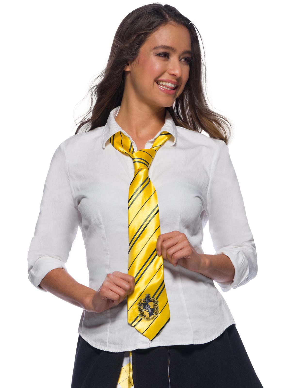 Harry Potter Hufflepuff House Tie - Buy Online Only