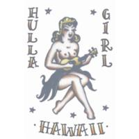 Hula Girl Vintage 1950s Tattoo - The Costume Company | Fancy Dress Costumes Hire and Purchase Brisbane and Australia