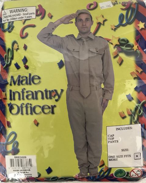 Infantry Officer Male - The Costume Company | Fancy Dress Costumes Hire and Purchase Brisbane and Australia