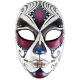 Juanita Face Mask Pink and Blue - The Costume Company | Fancy Dress Costumes Hire and Purchase Brisbane and Australia
