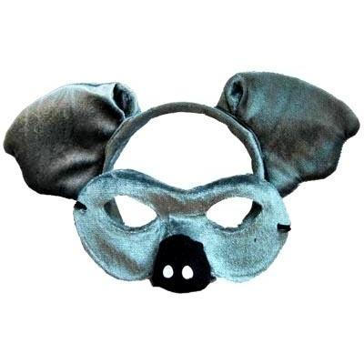 Koala - Headband and Mask Set - The Costume Company | Fancy Dress Costumes Hire and Purchase Brisbane and Australia