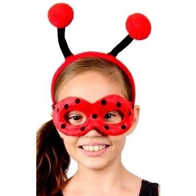 Ladybug - Headband and Mask Set - The Costume Company | Fancy Dress Costumes Hire and Purchase Brisbane and Australia