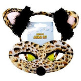 Leopard - Headband and Mask Set - The Costume Company | Fancy Dress Costumes Hire and Purchase Brisbane and Australia