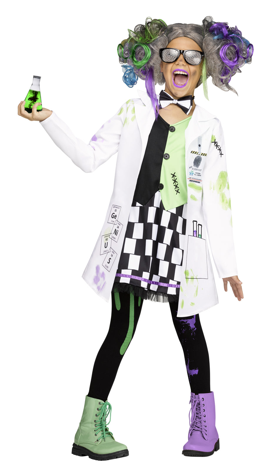 Mad Scientist Tween Deluxe Costume - Buy