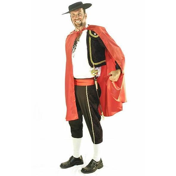Matador Costume - Hire - The Costume Company | Fancy Dress Costumes Hire and Purchase Brisbane and Australia