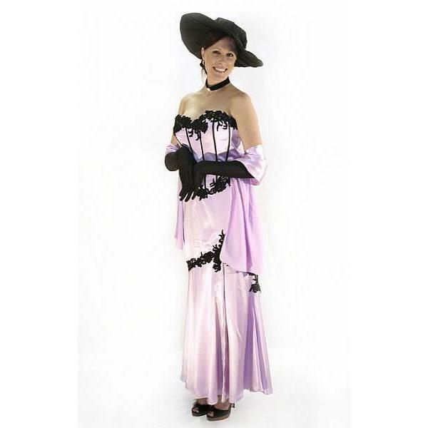 Mauve Dress Costume - Hire - The Costume Company | Fancy Dress Costumes Hire and Purchase Brisbane and Australia