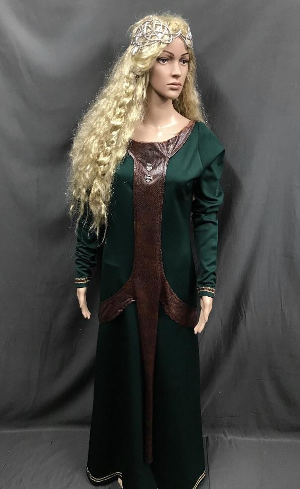 Medieval Lagertha Viking Queen Dress - Hire - The Costume Company | Fancy Dress Costumes Hire and Purchase Brisbane and Australia