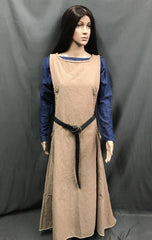 Medieval Maiden Dress with Overlay - Hire - The Costume Company | Fancy Dress Costumes Hire and Purchase Brisbane and Australia