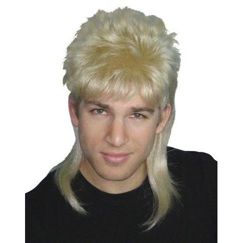 Mullet Blonde 80s Wig - The Costume Company | Fancy Dress Costumes Hire and Purchase Brisbane and Australia