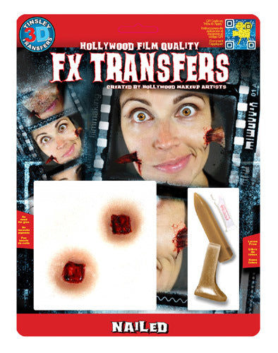 Nailed 3D Transfers - Buy Online Only
