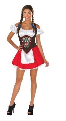 Oktoberfest Beer Garden Babe - The Costume Company | Fancy Dress Costumes Hire and Purchase Brisbane and Australia