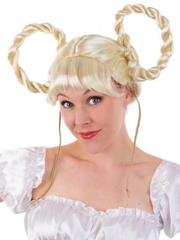 Oktoberfest - Blonde Gertrude Wig - The Costume Company | Fancy Dress Costumes Hire and Purchase Brisbane and Australia