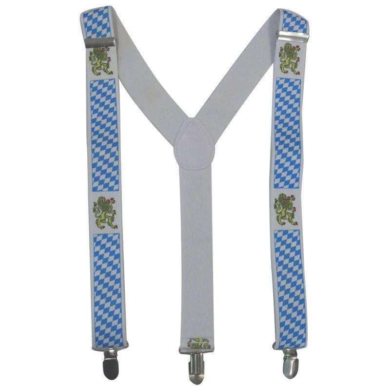 Oktoberfest Braces - Stretch Suspenders - The Costume Company | Fancy Dress Costumes Hire and Purchase Brisbane and Australia