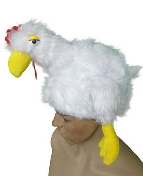 Oktoberfest Chicken Dance Chicken Hat - The Costume Company | Fancy Dress Costumes Hire and Purchase Brisbane and Australia
