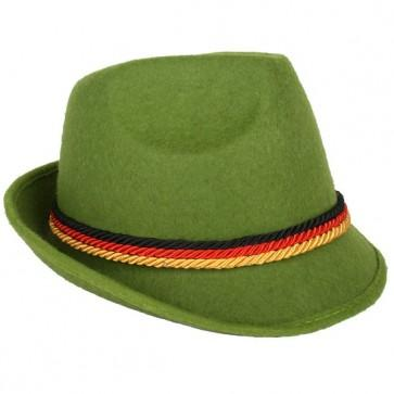 Oktoberfest - German Green Costume Hat - The Costume Company | Fancy Dress Costumes Hire and Purchase Brisbane and Australia