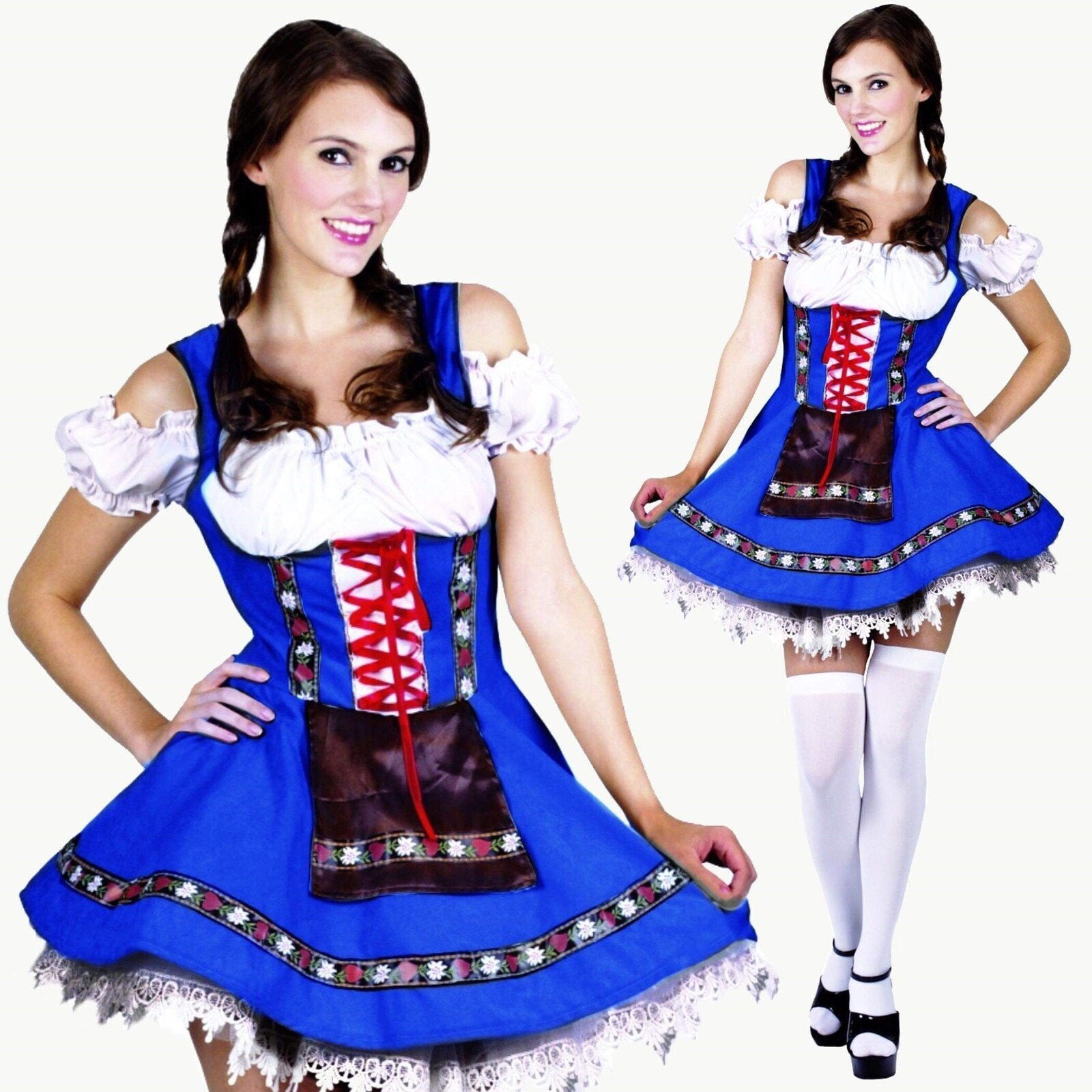 Oktoberfest Heidi Dress - The Costume Company | Fancy Dress Costumes Hire and Purchase Brisbane and Australia