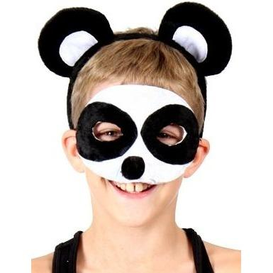 Panda - Headband and Mask Set - The Costume Company | Fancy Dress Costumes Hire and Purchase Brisbane and Australia