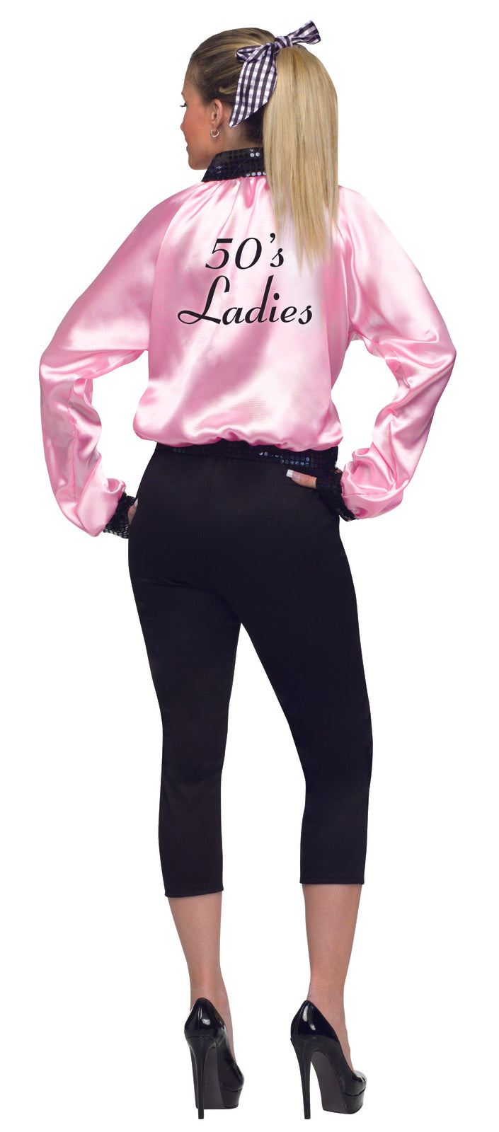 Pink 50s Ladies Jacket Costume - Buy