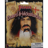 Pirate Beard and Moustache - The Costume Company | Fancy Dress Costumes Hire and Purchase Brisbane and Australia