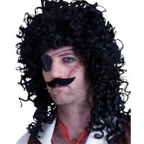 Pirate Eye Patch and Moustache - The Costume Company | Fancy Dress Costumes Hire and Purchase Brisbane and Australia